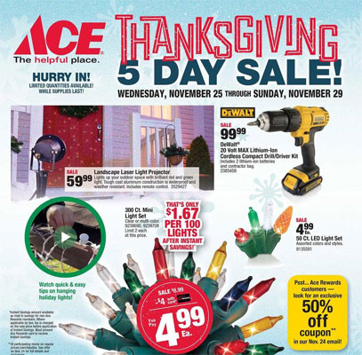 Ace Hardware Black Friday Ad Posted