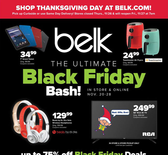Belk Black Friday Ad Posted