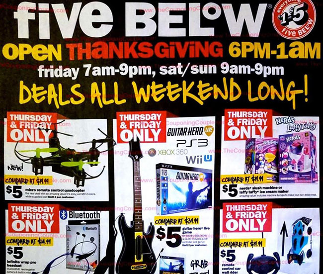 Five Below Black Friday Ad Released