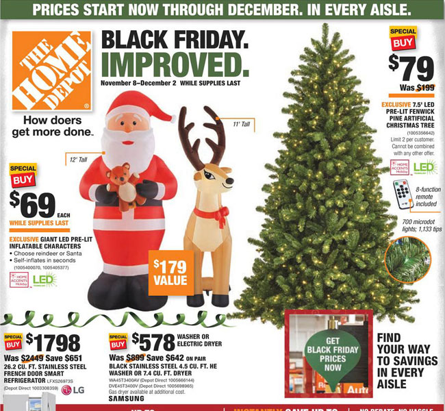 Home Depot Black Friday 2021