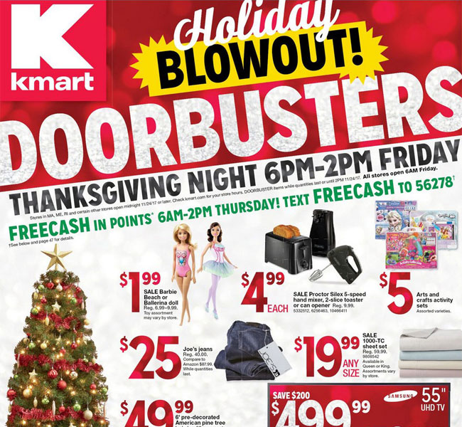 Kmart Black Friday Ad Posted