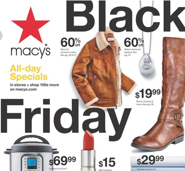 Macy's Black Friday 2021