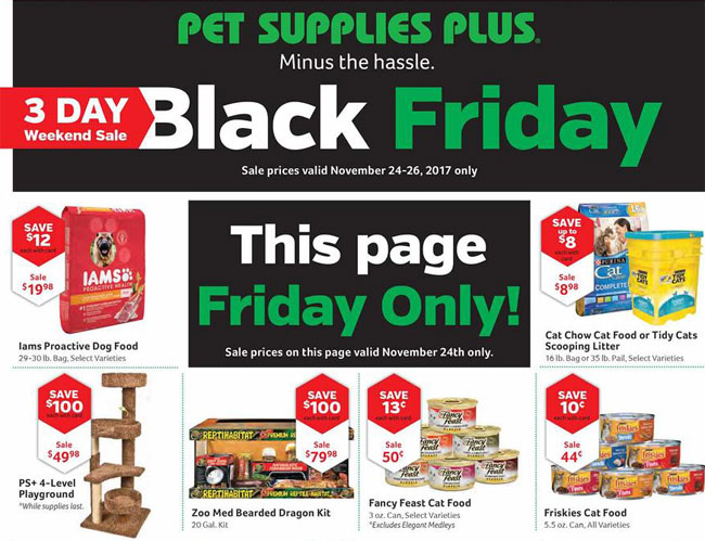 Pet Supplies Plus Black Friday Ad Posted