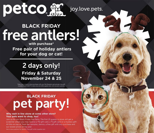Petco Black Friday Ad Released