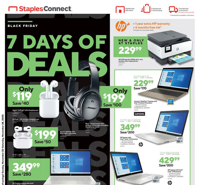 Staples Black Friday 2021