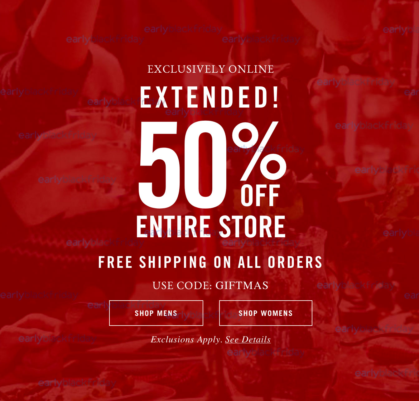 Abercrombie and fitch coupons black friday 2018