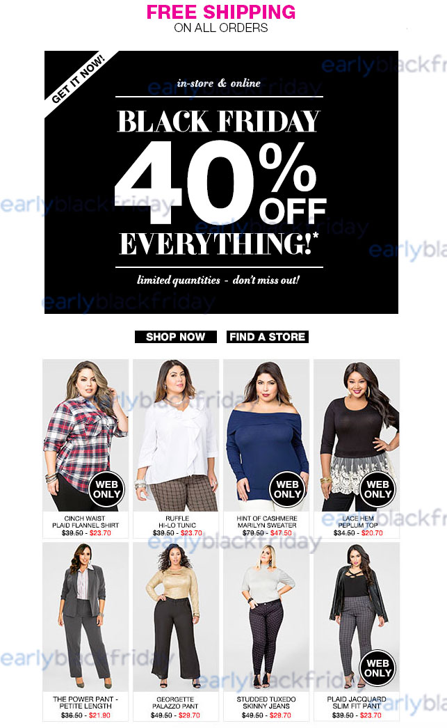 Ashley Stewart Black Friday 2015