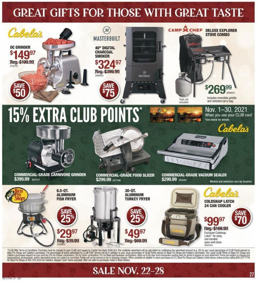 Bass pro shops black friday 2018 ad sales and deals for Black friday fishing deals