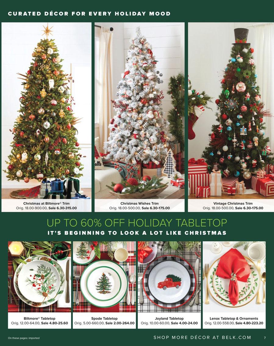 Page 7  sc 1 st  EarlyBlackFriday.com & Belk Black Friday 2018 Ad Sales Thanksgiving Deals
