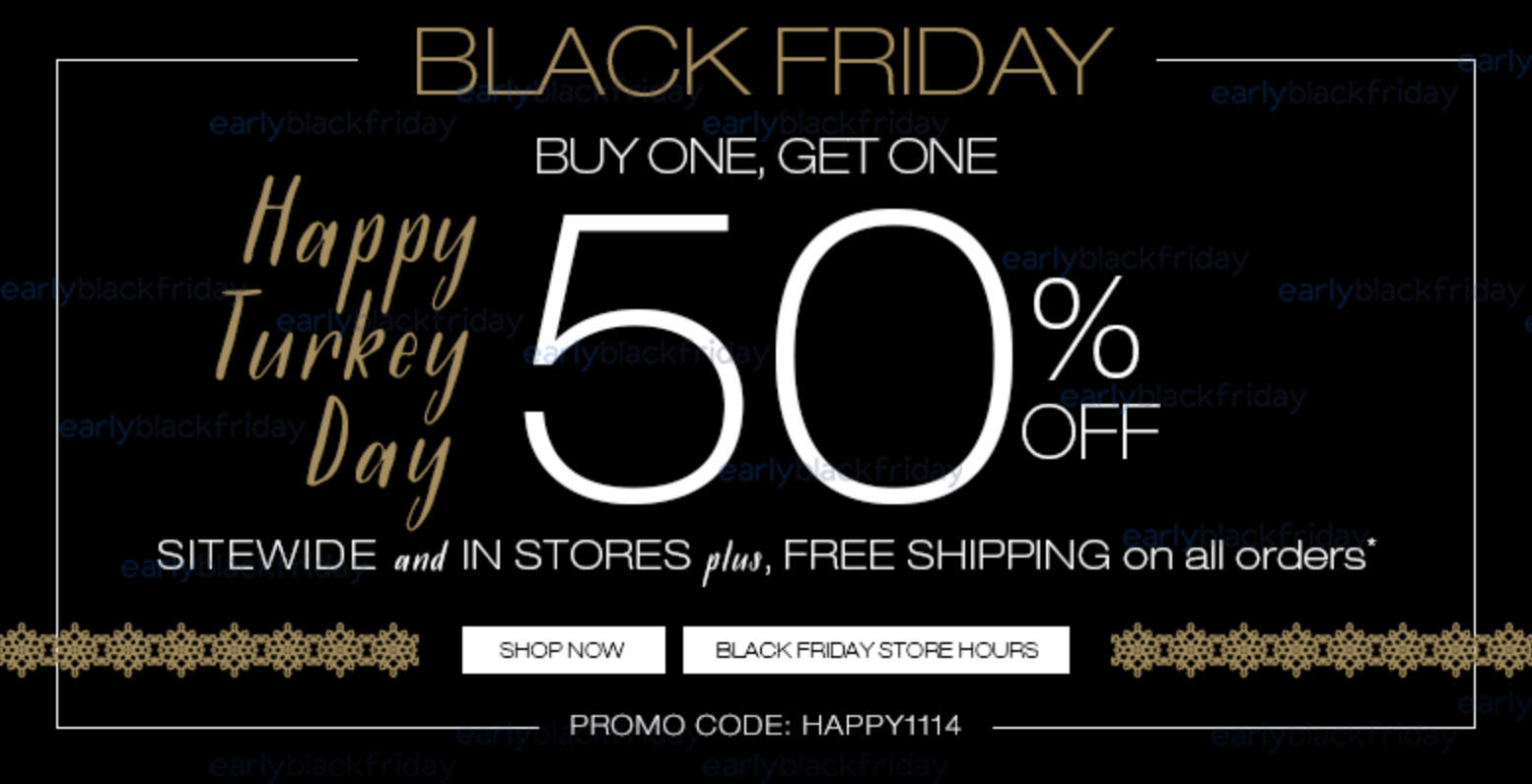 Maurices Black Friday 2014