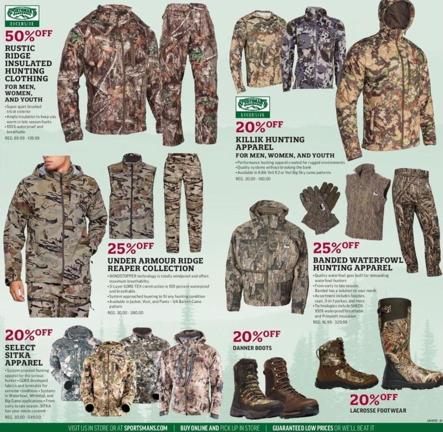Sportsman 39 s warehouse black friday 2018 ad for Black friday fishing deals
