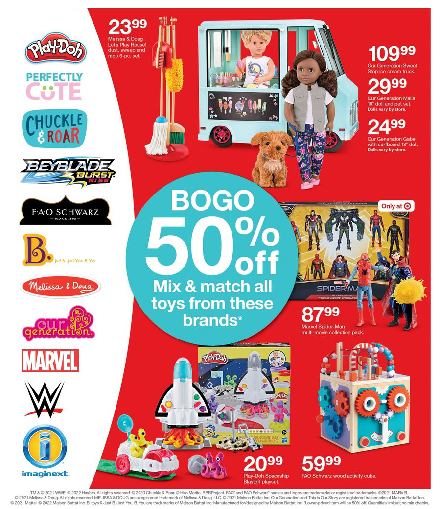 Target Black Friday Ad for is here, and it's got some seriously doorbusting deals this year! With 47 pages of this season's most in-demand products from trendy .