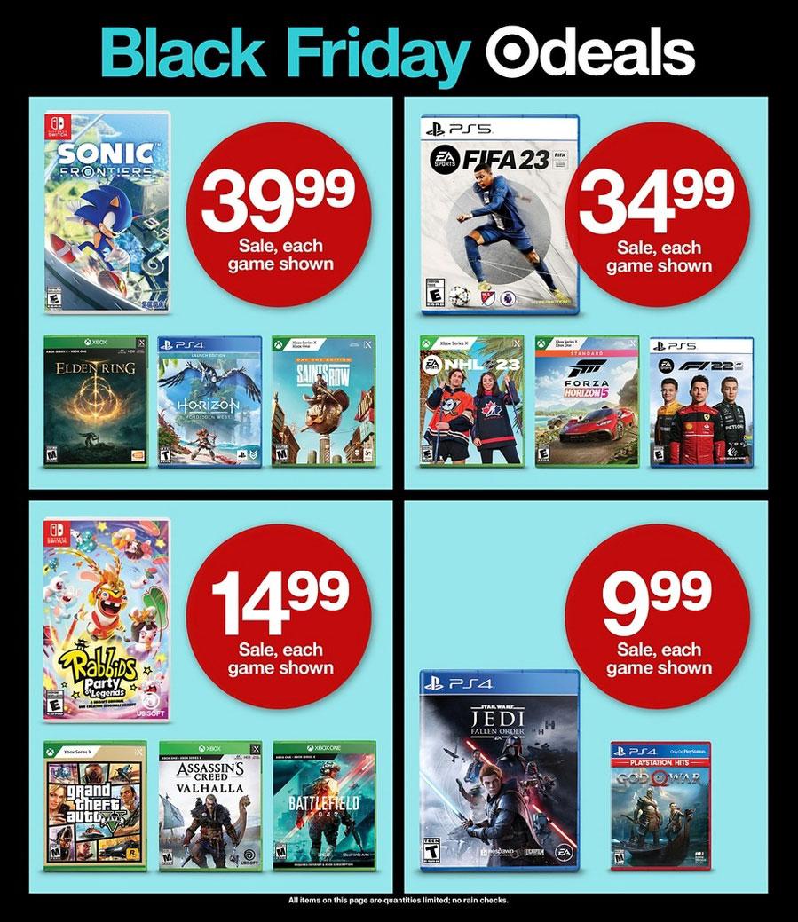 Black friday deals online target 2018
